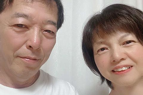再婚 カップル写真